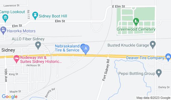 Street map of Creekside Animal Hospital