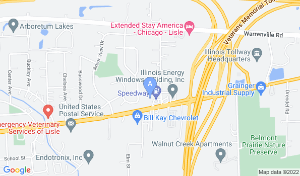 Street map of Partners and Paws Veterinary Services