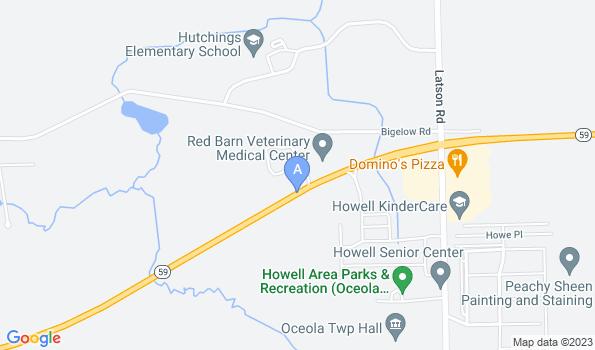 Street map of Veterinary Medical Center