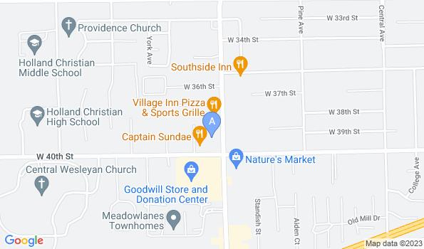 Street map of Kingdom Animal Hospital