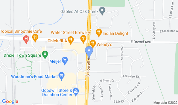 Street map of Our Howell Avenue Clinic in Oak Creek, Wisconsin