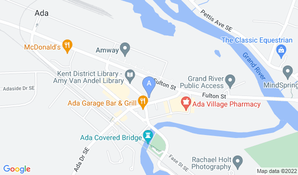 Street map of Bridges Animal Hospital