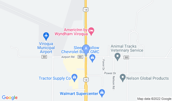 Street map of Grimm Tails Veterinary Clinic