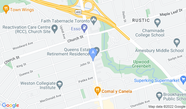 Street map of Our Pet Hospital