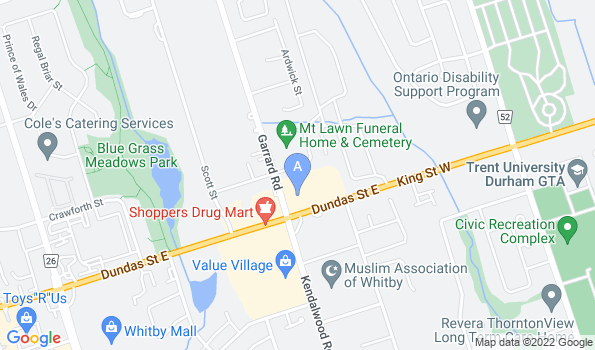 Street map of Animal Emergency Clinic of Durham