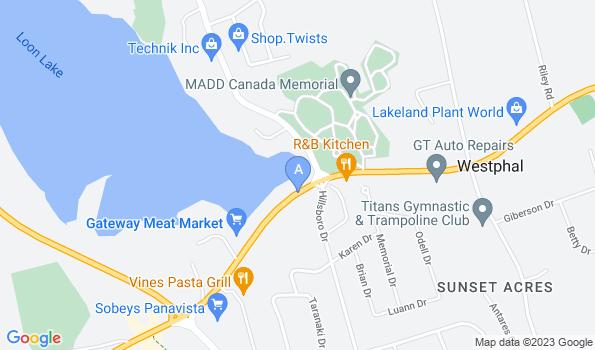 Street map of Acres Animal Hospital