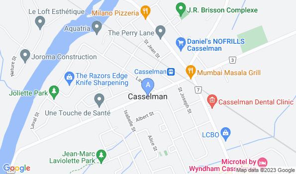 Street map of Nation Veterinary Hospital