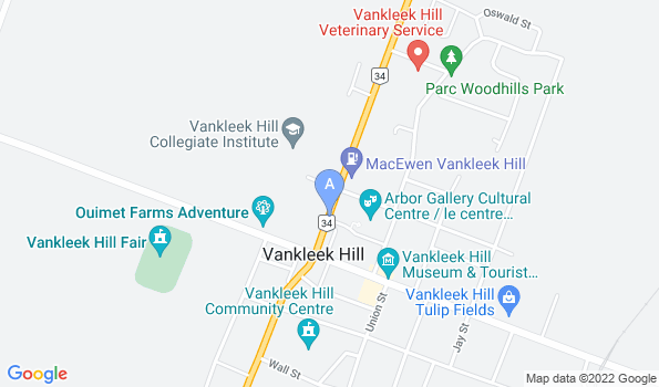 Street map of MacCormick Veterinary Services
