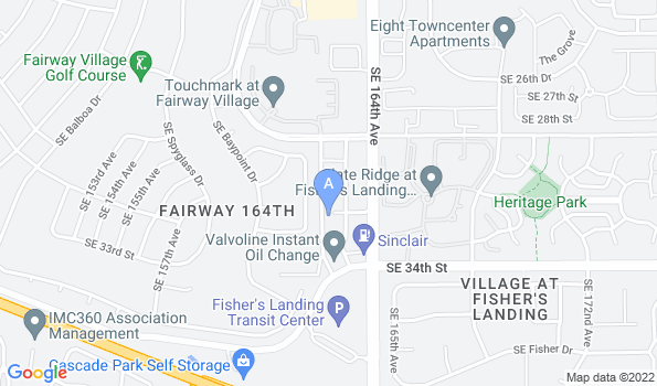 Street map of Riverview Animal Hospital