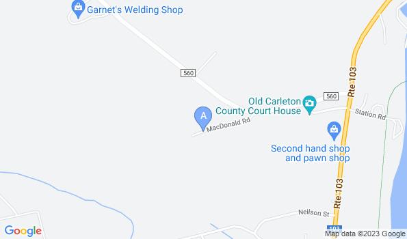 Street map of Saint John Valley Veterinary Services Inc.