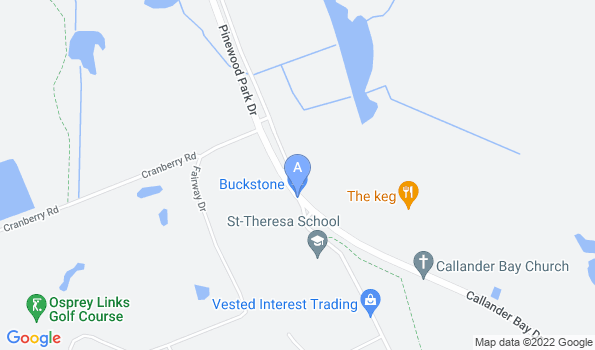Street map of Shannondale Pet Hospital