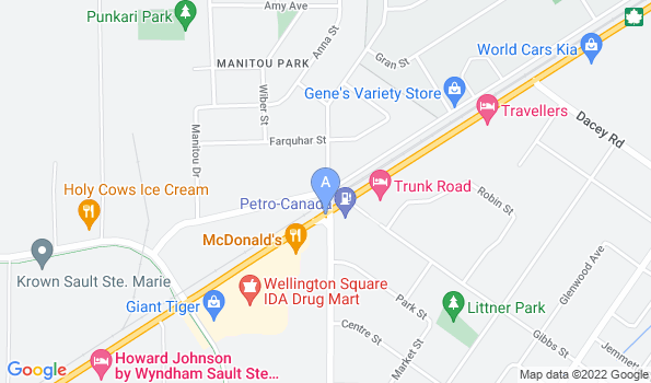 Street map of Northland Animal Hospital