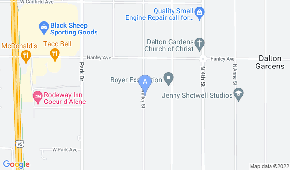 Street map of Our Animal Hospital