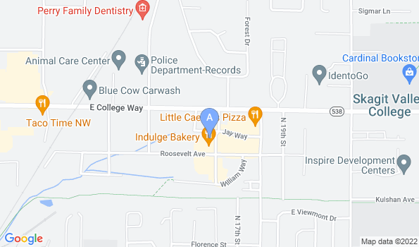 Street map of Parker Way Veterinary Clinic