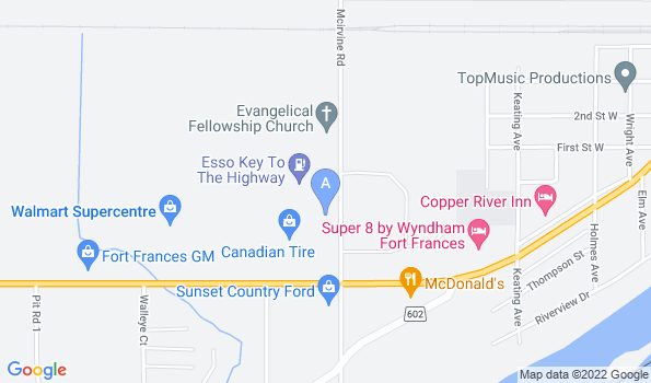 Street map of Nor-West Animal Clinic