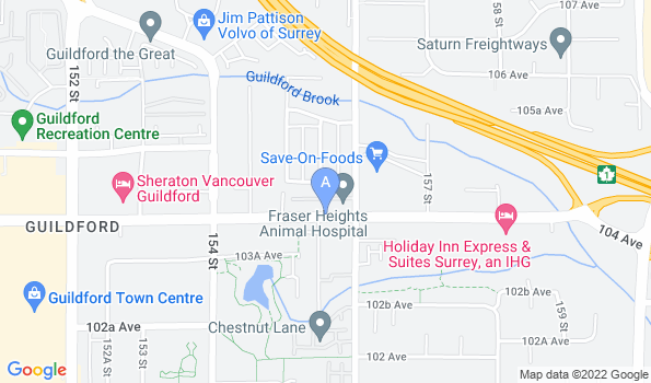 Street map of Guildford Pet Foods & Supplies