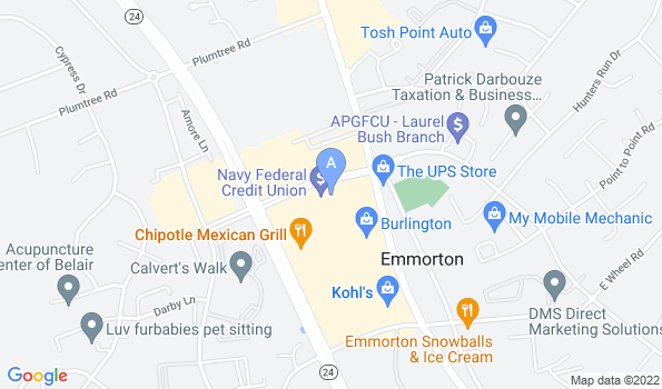 Street map of Festival Veterinary Clinic