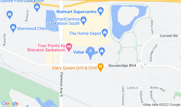 Street map of Stonebridge Veterinary Hospital