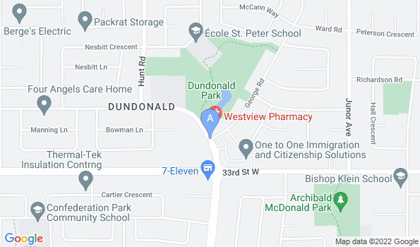Street map of Furry Friends Animal Hospital