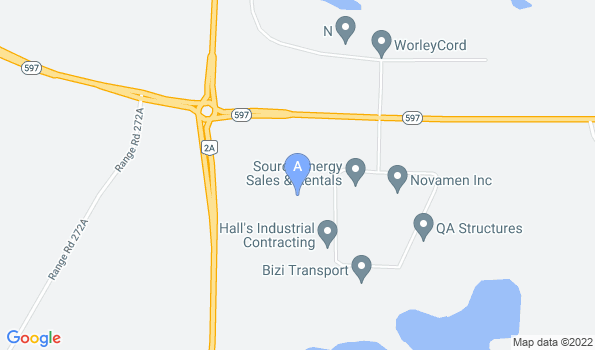 Street map of Main Office
