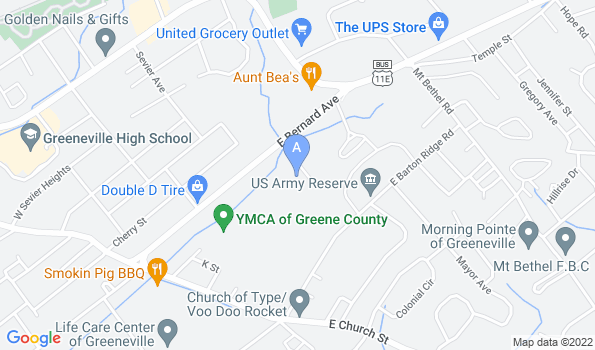 Street map of Vet Care Animal Hospital