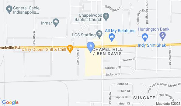 Street map of Rockville Road Animal Hospital