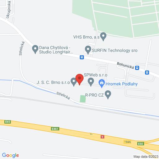 Kliknutím přejdete na google maps